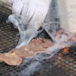 焼き立ての牛タン串